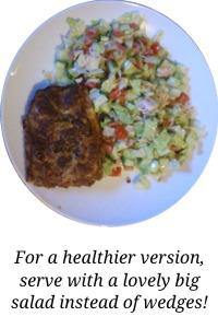 5:2 dinners_lasagne &_salad